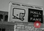 Image of Pro Football Hall of Fame Canton Ohio USA, 1963, second 11 stock footage video 65675030506