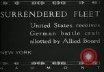 Image of Surrendered German ships towed by US Navy after World War 1 New York United States USA, 1920, second 3 stock footage video 65675030510