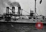 Image of Surrendered German ships towed by US Navy after World War 1 New York United States USA, 1920, second 42 stock footage video 65675030510