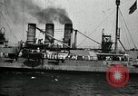 Image of Surrendered German ships towed by US Navy after World War 1 New York United States USA, 1920, second 43 stock footage video 65675030510