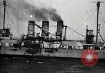 Image of Surrendered German ships towed by US Navy after World War 1 New York United States USA, 1920, second 44 stock footage video 65675030510