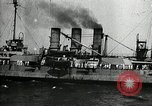 Image of Surrendered German ships towed by US Navy after World War 1 New York United States USA, 1920, second 45 stock footage video 65675030510