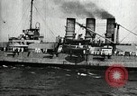 Image of Surrendered German ships towed by US Navy after World War 1 New York United States USA, 1920, second 47 stock footage video 65675030510