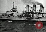 Image of Surrendered German ships towed by US Navy after World War 1 New York United States USA, 1920, second 48 stock footage video 65675030510