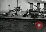 Image of Surrendered German ships towed by US Navy after World War 1 New York United States USA, 1920, second 49 stock footage video 65675030510