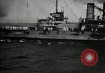 Image of Surrendered German ships towed by US Navy after World War 1 New York United States USA, 1920, second 51 stock footage video 65675030510