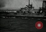 Image of Surrendered German ships towed by US Navy after World War 1 New York United States USA, 1920, second 52 stock footage video 65675030510