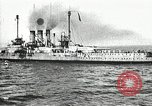 Image of Surrendered German ships towed by US Navy after World War 1 New York United States USA, 1920, second 60 stock footage video 65675030510