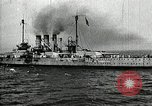 Image of Surrendered German ships towed by US Navy after World War 1 New York United States USA, 1920, second 61 stock footage video 65675030510