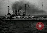 Image of Surrendered German ships towed by US Navy after World War 1 New York United States USA, 1920, second 62 stock footage video 65675030510
