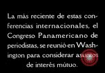 Image of Pan American Congress of Journalists Washington DC USA, 1929, second 56 stock footage video 65675030517