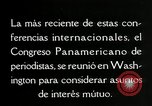 Image of Pan American Congress of Journalists Washington DC USA, 1929, second 57 stock footage video 65675030517