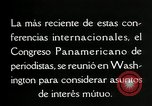 Image of Pan American Congress of Journalists Washington DC USA, 1929, second 58 stock footage video 65675030517