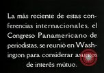 Image of Pan American Congress of Journalists Washington DC USA, 1929, second 59 stock footage video 65675030517