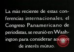 Image of Pan American Congress of Journalists Washington DC USA, 1929, second 61 stock footage video 65675030517