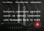 Image of jobs at factories in America during Great Depression United States USA, 1932, second 3 stock footage video 65675030527