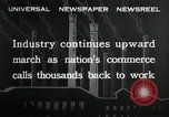 Image of jobs at factories in America during Great Depression United States USA, 1932, second 7 stock footage video 65675030527