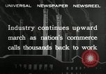 Image of jobs at factories in America during Great Depression United States USA, 1932, second 11 stock footage video 65675030527