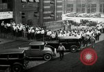 Image of jobs at factories in America during Great Depression United States USA, 1932, second 36 stock footage video 65675030527