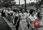 Image of jobs at factories in America during Great Depression United States USA, 1932, second 60 stock footage video 65675030527