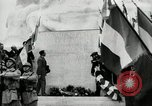 Image of U.S. World War I memorial monument presented to France Meaux France, 1932, second 18 stock footage video 65675030530
