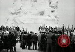 Image of U.S. World War I memorial monument presented to France Meaux France, 1932, second 38 stock footage video 65675030530