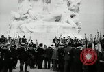 Image of U.S. World War I memorial monument presented to France Meaux France, 1932, second 40 stock footage video 65675030530