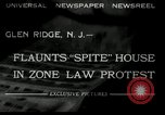 Image of protest against Zone Law Glen Ridge New Jersey USA, 1932, second 2 stock footage video 65675030534