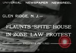 Image of protest against Zone Law Glen Ridge New Jersey USA, 1932, second 6 stock footage video 65675030534