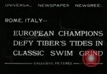 Image of water race Rome Italy, 1932, second 1 stock footage video 65675030536