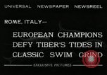 Image of water race Rome Italy, 1932, second 2 stock footage video 65675030536