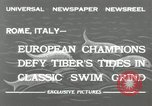 Image of water race Rome Italy, 1932, second 7 stock footage video 65675030536