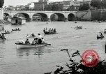 Image of water race Rome Italy, 1932, second 16 stock footage video 65675030536