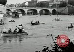 Image of water race Rome Italy, 1932, second 17 stock footage video 65675030536