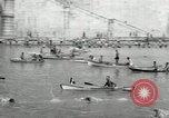 Image of water race Rome Italy, 1932, second 23 stock footage video 65675030536