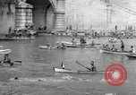 Image of water race Rome Italy, 1932, second 24 stock footage video 65675030536