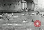 Image of water race Rome Italy, 1932, second 25 stock footage video 65675030536