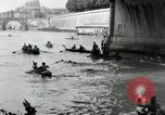 Image of water race Rome Italy, 1932, second 33 stock footage video 65675030536