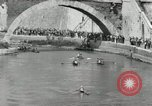 Image of water race Rome Italy, 1932, second 39 stock footage video 65675030536