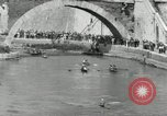 Image of water race Rome Italy, 1932, second 40 stock footage video 65675030536