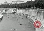 Image of water race Rome Italy, 1932, second 42 stock footage video 65675030536