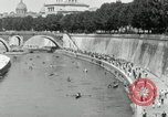 Image of water race Rome Italy, 1932, second 44 stock footage video 65675030536