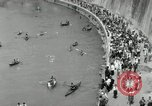 Image of water race Rome Italy, 1932, second 46 stock footage video 65675030536
