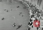 Image of water race Rome Italy, 1932, second 47 stock footage video 65675030536