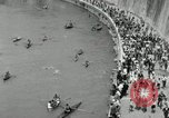 Image of water race Rome Italy, 1932, second 48 stock footage video 65675030536