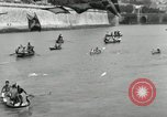 Image of water race Rome Italy, 1932, second 61 stock footage video 65675030536