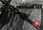Image of open pit iron mines Minnesota United States USA, 1924, second 32 stock footage video 65675030553