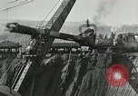 Image of open pit iron mines Minnesota United States USA, 1924, second 36 stock footage video 65675030553