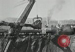 Image of open pit iron mines Minnesota United States USA, 1924, second 37 stock footage video 65675030553