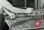 Image of Goodyear rubber heel manufacture Windsor Vermont USA, 1941, second 32 stock footage video 65675030565